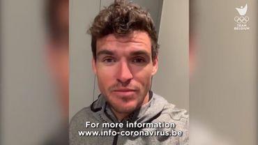 La Team Belgium fait appel aux grands sportifs belges contre le Coronavirus