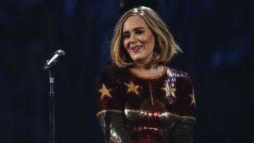 Adele aux Brit Awards
