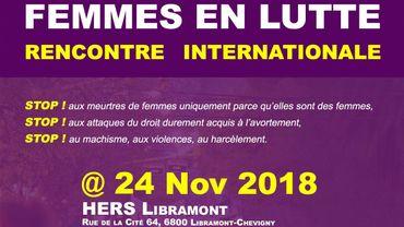 Femmes en lutte : manifestations, actions chocs, mobilisation éclair via les réseaux sociaux, solidarité internationale...
