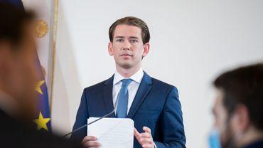 """""""Nous pensons que la répartition en Europe a échoué"""", a estimé le chef du gouvernement autrichien."""