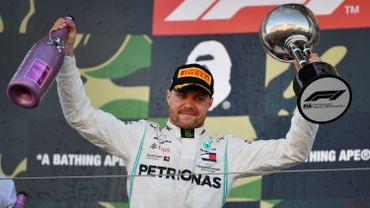 Valterri Bottas s'impose au Grand Prix du Japon devant Vettel et Hamilton, Mercedes champion du monde des constructeurs