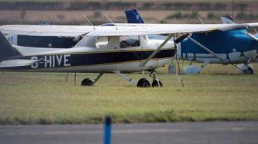 L'avion (un Cessna comme sur notre photo, selon des temoins) a raté son décollage lors d'un exercice de parachutage.