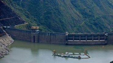 Le barrage de Paute en Equateur