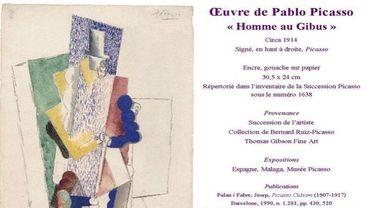 Un Picasso à 100 euros pour venir en aide à la ville de Tyr au Liban?