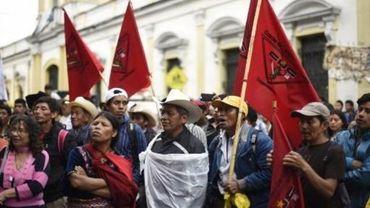 Guatemala: tollé après une loi sur le financement illégal des partis