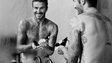 David Beckham lance sa propre marque de soins pour hommes.