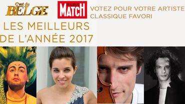 """""""Les meilleurs de l'année 2017"""" - Catégorie classique : votez pour votre artiste favori !"""