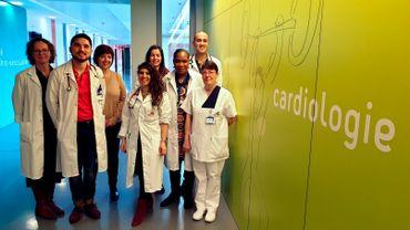 Les cardiologues du CHU reçoivent les données médicales des patients, et peuvent par exemple décider d'adapter le traitement.