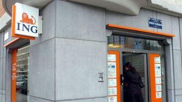 ING ferme une quarantaine d'agences surtout à Bruxelles et en Wallonie