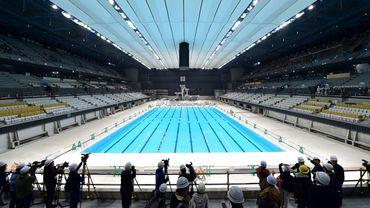Cet imposant bâtiment situé au bord de la baie de Tokyo accueillera des épreuves de natation, de plongeon et de natation synchronisée.