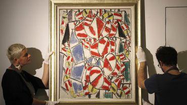 """""""Contraste de formes"""", réalisé en 1913 par Fernand Léger, était estimé par Christie's à 65 millions de dollars."""