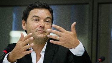 """L'économiste français et auteur du livre """"Capital au XXIe siècle"""", Thomas Piketty, le 5 novembre 2014 à La Haye aux Pays-Bas."""