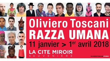 Exposition Razza Umana à la Cité Miroir