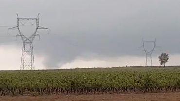 L'Hérault, touché par une tornade ce dimanche