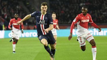Le PSG et Monaco partagent 3-3 dans un match de haute volée, Meunier joue toute la rencontre