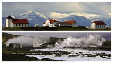 Vues d'Islande (images d'illustration)