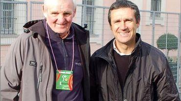 baffi (à droite) est le nouveau directeur sportif de Luxemburg pro cycling project