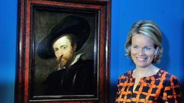 """""""Autoportrait"""" de Pierre Paul Rubens"""