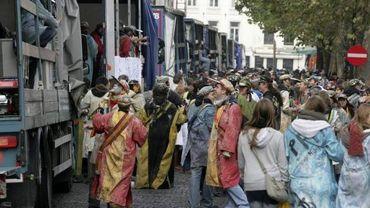 Le cortège de la Saint-Verhaegen ce vendredi à Bruxelles