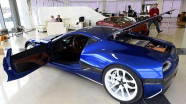 """""""Concept One"""", un modèle de voiture électrique très avant-gardiste"""