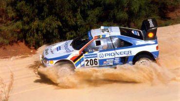 La Peugeot de Ickx en 1989