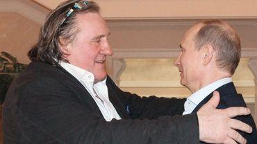 Gérard Depardieu reçu la veille par Vladimir Poutine