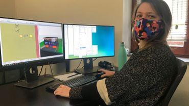 Marie a rejoint l'équipe de ce bureau d'architecture spécialisé en images 3D
