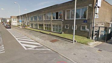 Le bâtiment concerné rue Uyttenhove à Jette.