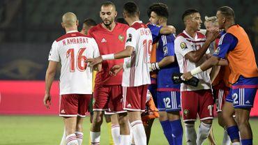 Le Maroc termine premier du groupe D devant la Côte d'Ivoire