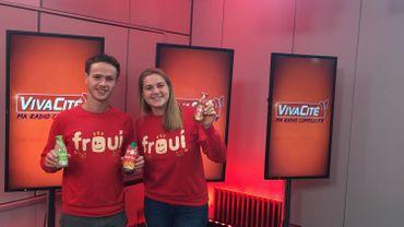FrOUI, une start-up bruxelloise, a besoin de vous pour faire connaître la boisson la moins sucrée du pays