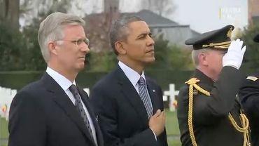 Barack Obama, le roi Philippe et le Premier ministre Elio Di Rupo se sont exprimés sur le sens de cette cérémonie.