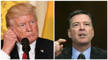 Donald Trump affirme n'avoir jamais demandé au patron du FBI de classer une enquête