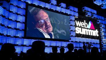 Stephen Hawking avait délivré un message via vidéo pour l'ouverture du Web Summit de 2017 à Lisbonne