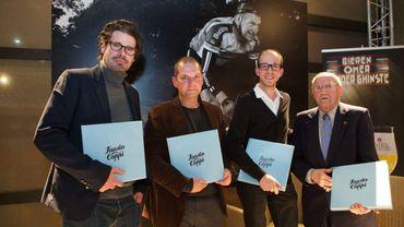 Stephan Vanfleteren (à l'extrême gauche)