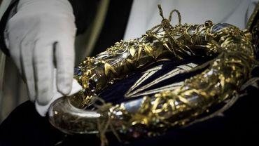 La couronne d'épines et la tunique de Saint-Louis sauvées