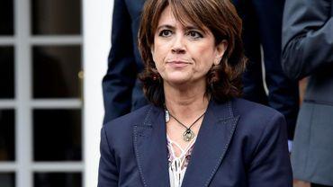 La ministre espagnole de la Justice Dolores Delgado à Madrid, le 8 juin 2018
