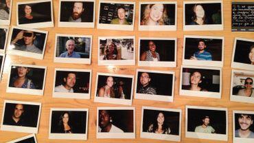 Quelques photos des participants au work in progress d'Armel Roussel