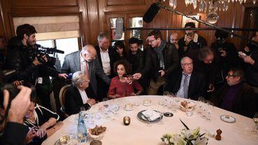 """L'auteure franco-marocaine Leila Slimani s'exprime après avoir remporté le prix Goncourt avec """"Chanson douce""""."""