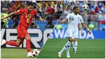Les  chiffres marquants avant France-Belgique