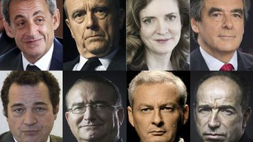 Élection présidentielle française: qui sont les 8 candidats à la primaire à droite?