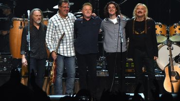 Timothy B. Schmit, Vince Gill, Don Henley, Decon Frey et Joe Walsh, The Eagles en Concert à Nashville en octobre 2017