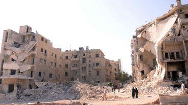 Vue d'Alep, en Syrie
