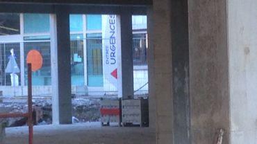 Les nouvelles urgences du CHR Verviers sont en cours de construction (1)