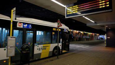 Un bus de De Lijn à Bruxelles-Nord