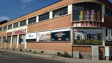 L'ancienne moutarderie Bister où 3 des 30 appartements seront mis à disposition du secteur public