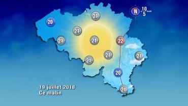 METEO: crème solaire encore aujourd'hui, les températures vont grimper jusqu'à 29°
