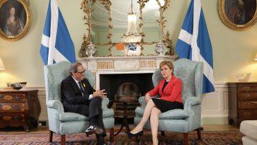 Quim Torra et Nicola Sturgeon