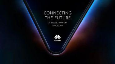 Huawei donne un avant-goût de son smartphone à écran pliable