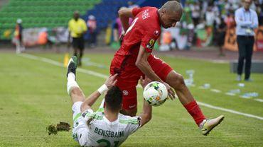 L'Algérie de Leekens s'incline contre la Tunisie malgré un but d'Hanni