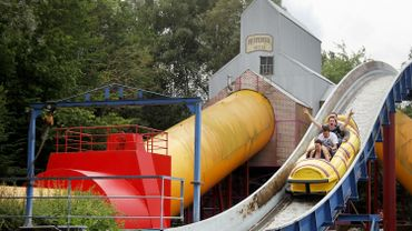 Une attraction de Walibi